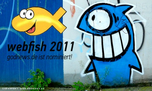 godnews.de für den webfish 2011 nominiert